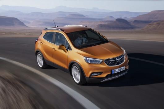 Новый Opel Mokka X готов к появлению на Женеве