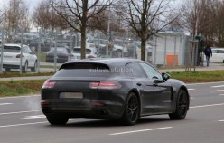 В Сети появились первые снимки нового Porsche Panamera Shooting Brake