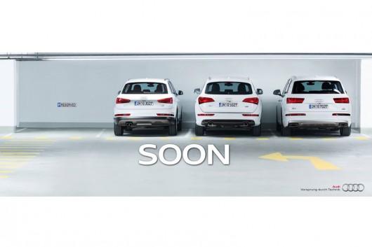 Audi продемонстрировала первый тизер будущего компактного кроссовера Q2