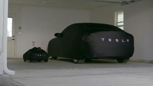 Игрушечная Tesla Model S для детей богатых родителей