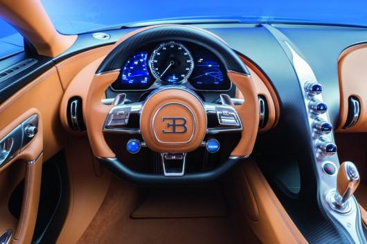 Bugatti Chiron мощностью 1500 л.с.: Представлен официально
