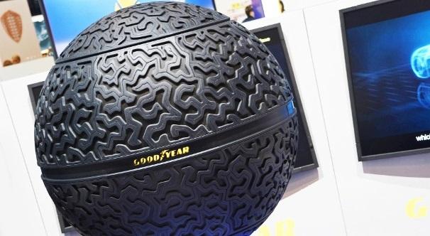Новые концептуальные шины Goodyear были показаны на Женевском автосалоне