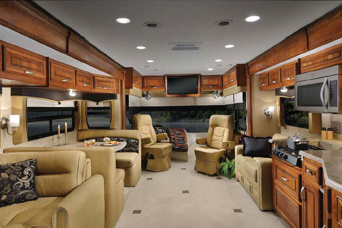 Iluminacion interior autocaravana