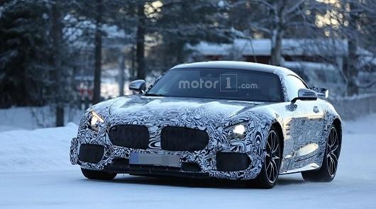 Подразделение Mercedes-AMG планирует выпуск «черной серии» модели GT