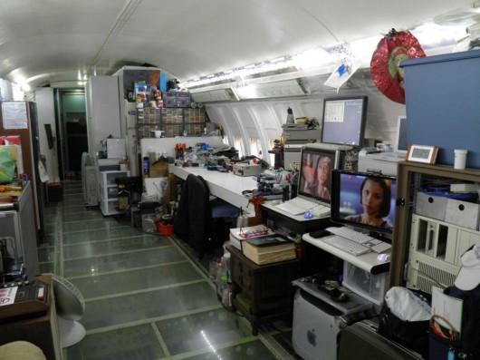Американец переоборудовал списанный Boeing в жилой дом