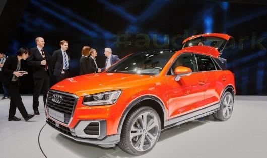 2017 Audi Q2 дебютирует в Женеве