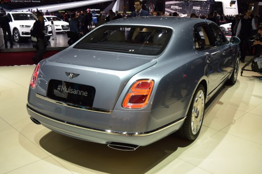 Bentley Mulsanne на автосалоне в Женеве 2016