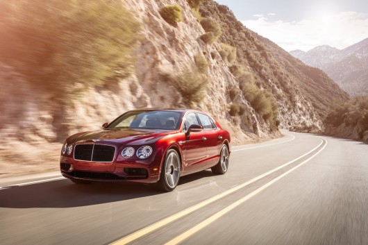 Bentley Flying Spur V8S  на автосалоне в Женеве 2016