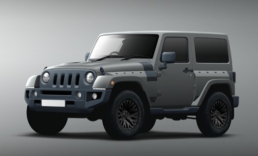 Project Kahn Jeep Black Hawk на автосалоне в Женеве 2016
