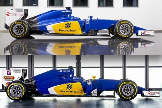 Формула-1: Сравнение болидов 2015 года с автомобилями 2016 года