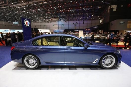 Alpina B7 Bi-Turbo появился на Женевском мотор шоу