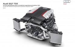 Audi SQ7 TDI представляет первый серийный кроссовер с электрическим компрессором