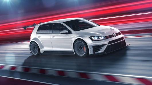 VW рассекретил новый гоночный Golf GTI TCR