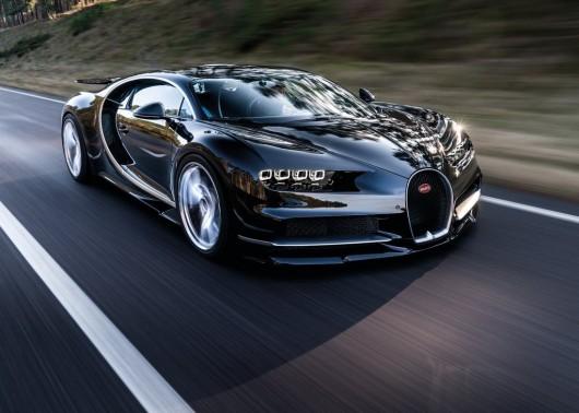 Bugatti с функцией изменения цвета