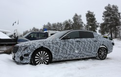 Mercedes-Benz «засветил» новую модель Maybach, построенную на базе Е-класса