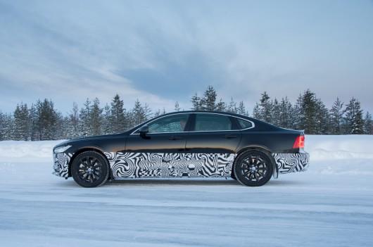 2017 Volvo S90, первый тест драйв предсерийного автомобиля