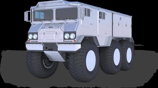 Новый лучший в мире Российский грузовик
