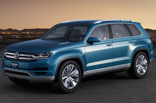 На дорогах Лос-Анджелеса видели странный внедорожник Volkswagen