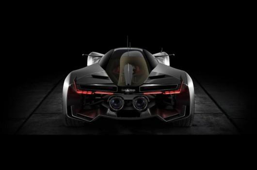 Компания Bell & Ross показала концепт суперкара AeroGT
