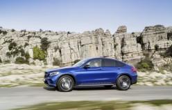 Официальные фотографии 2016 Mercedes-Benz GLC Coupe