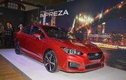 2017 Subaru Impreza, хэтчбек и седан   Премьера в Нью-Йорке