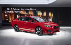 2017 Subaru Impreza, хэтчбек и седан | Премьера в Нью-Йорке