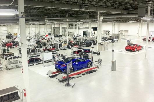 Как создают Honda NSX фотоотчет с производства