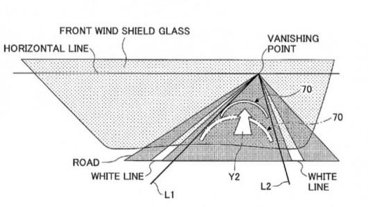 Toyota получила патент на первый адаптивный проекционный экран