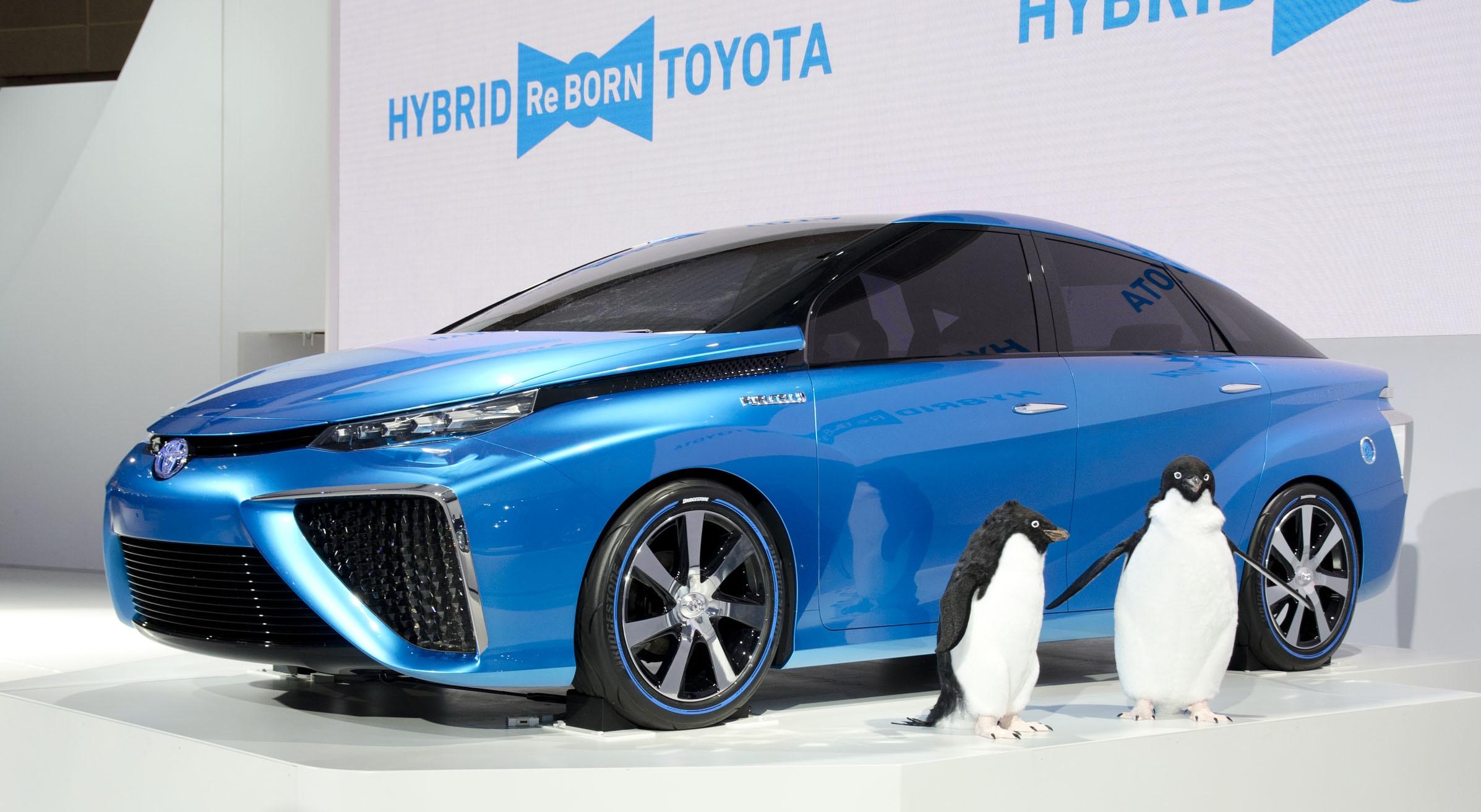 Технология топливных элементов и ее использование в автомобилях