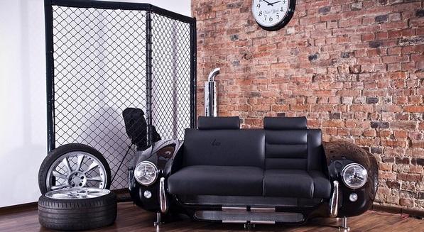 17 креативных способов использовать винтажные автомобильные части дома