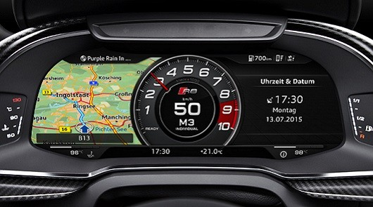 Audi совместо с Google внедряют новую систему управления автомобилем