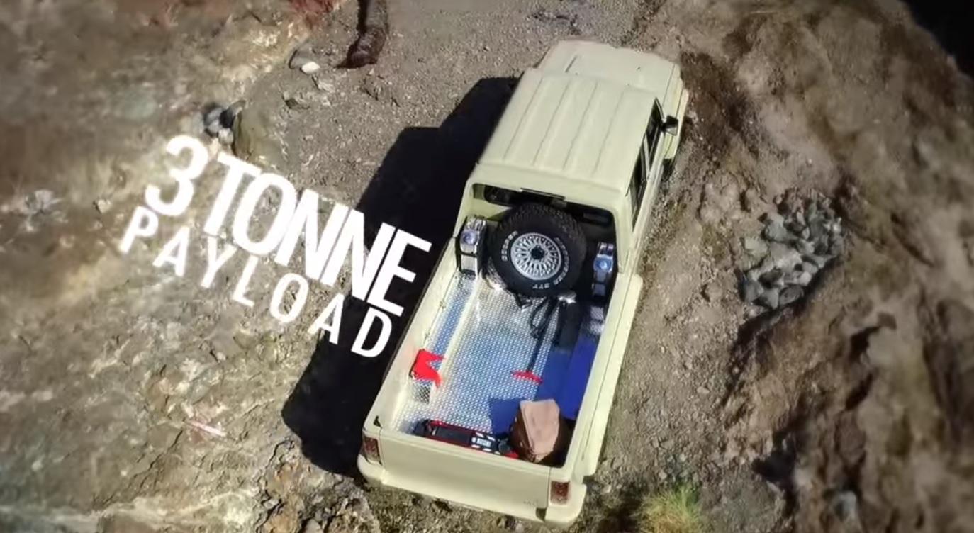 6-колесный Toyota Land Cruiser проедет везде где захотите [Видео]