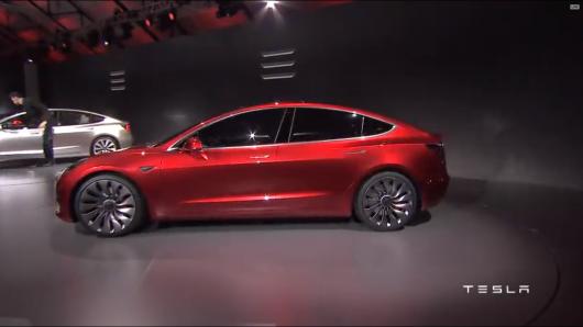 2017 Tesla Model 3: Официальный дебют