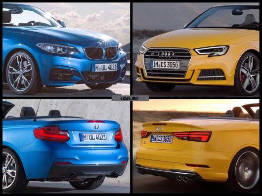 2016 Audi A3 против BMW 1-й серии F20