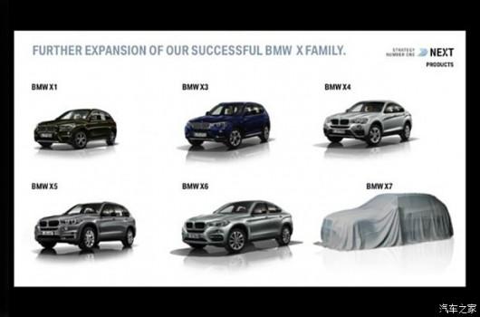 BMW готовится к выпуску нового внедорожника X7
