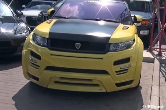 Тюнинг автомобили на дорогах Дубая