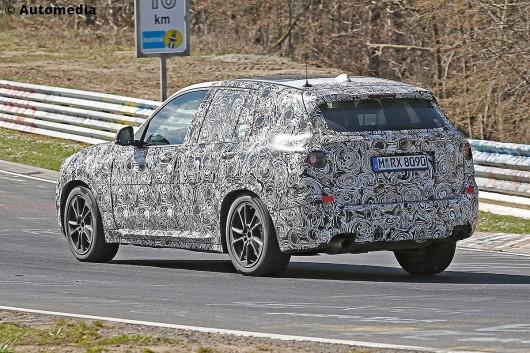 Более технологичный, более мощный BMW X3 2017