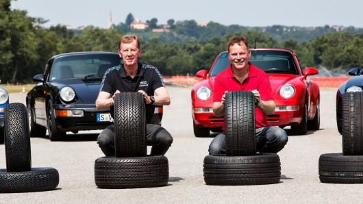 Porsche разрабатывает новые шин для своих классических автомобилей