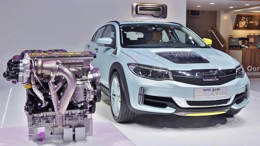 Qoros анонсировал Camless двигатель, разработанный совместно Koenigsegg Tech