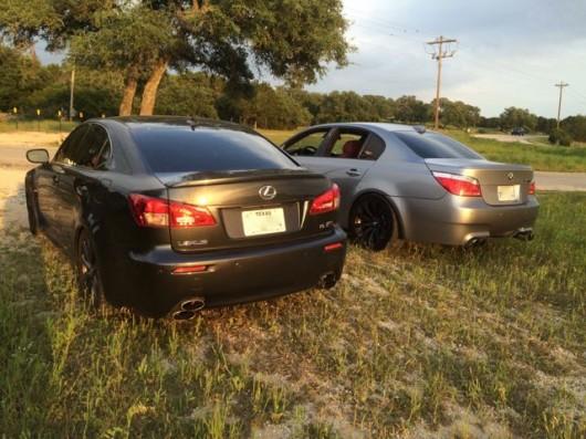 Сравнение 2008 Lexus IS-F и 2006 BMW M5. Опыт владения