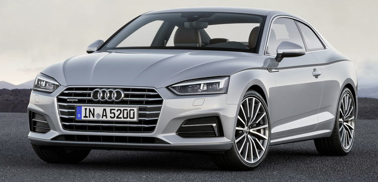������ ����������� ���������� ����� 2017 Audi A5 � S5 Coupe ����