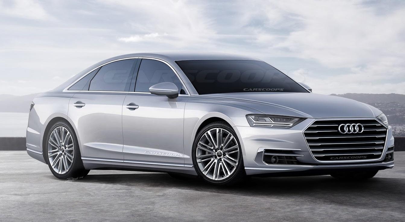 Будущие автомобили: Обзор нового 2018 Audi A8