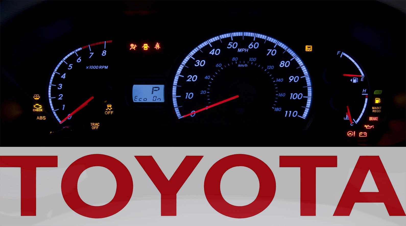 1465905643 toyota dashboard - Тойота рав 4 загорелся желтый восклицательный знак