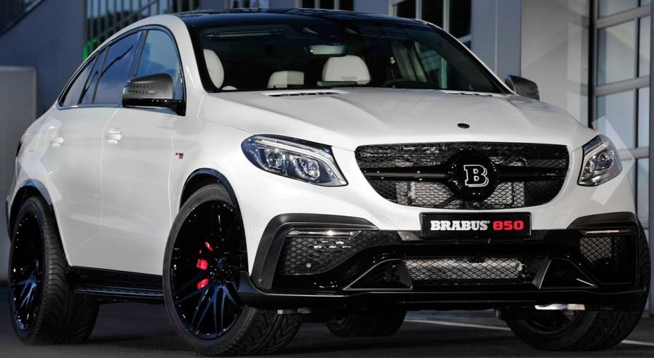 Самое быстрое в мире GLE Coupe от Brabus