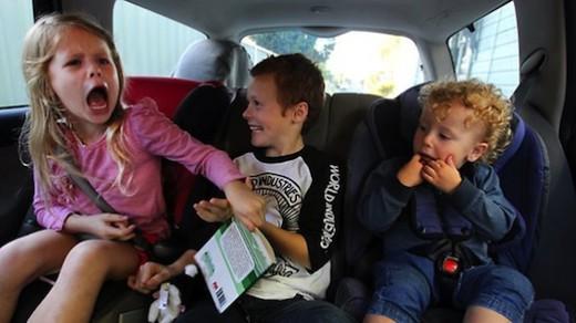 Новые правила перевозки детей в автомобилях с 1 января 2017 года