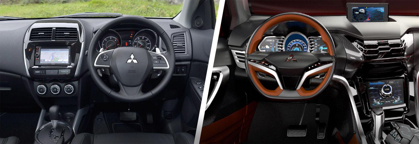 Mitsubishi asx interior 2016