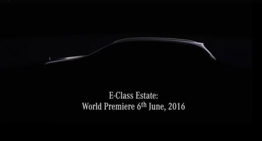 Тизерное видео нового универсала Мерседес Е-Класс