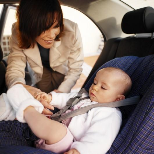 Как установить детское кресло