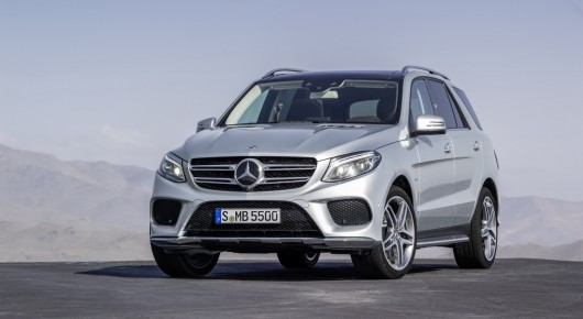 2016 Mercedes-Benz GLE заслужила высшую награду в краш-тестах