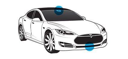 Есть в автопилоте Тесла слепое пятно?